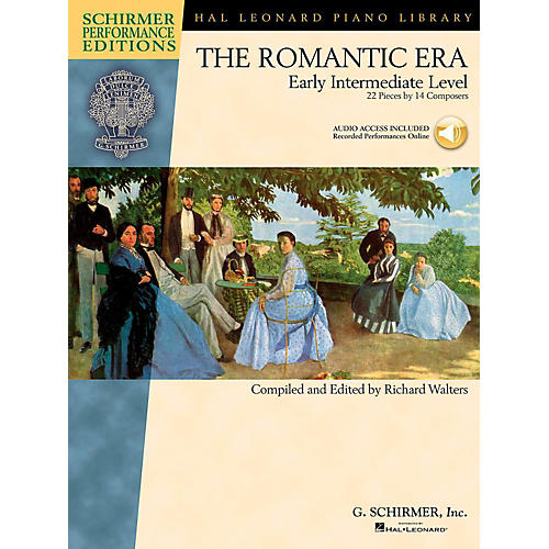 G. Schirmer The Romantic Era - Early Intermediate Level Schirmer Performance Editions Book Online Audio Access