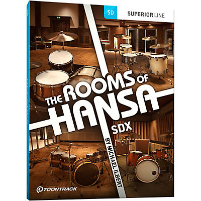 Toontrack The Rooms of Hansa SDX (Download)