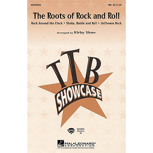 Hal Leonard The Roots of Rock and Roll (Medley) ShowTrax CD Arranged by Kirby Shaw