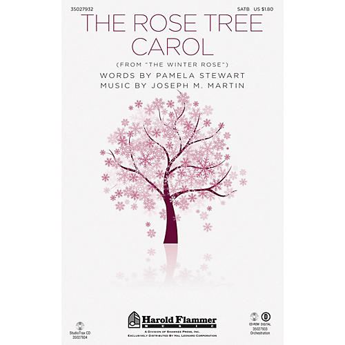 Shawnee Press The Rose Tree Carol (from The Winter Rose) SATB arranged by Joseph M. Martin