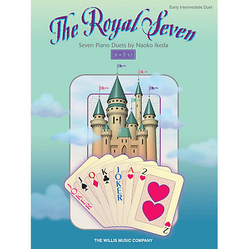 Willis Music The Royal Seven (Seven Piano Duets/Early Inter Level) Willis Series Book by Naoko Ikeda