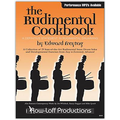 Row-Loff The Rudimental Cookbook (Book/Online Audio)