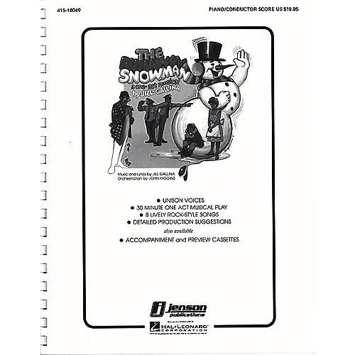 Hal Leonard The Runaway Snowman (Holiday Musical) Singer Composed by Jill Gallina
