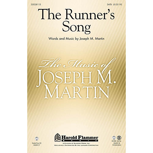 Shawnee Press The Runner's Song SATB composed by Joseph M. Martin