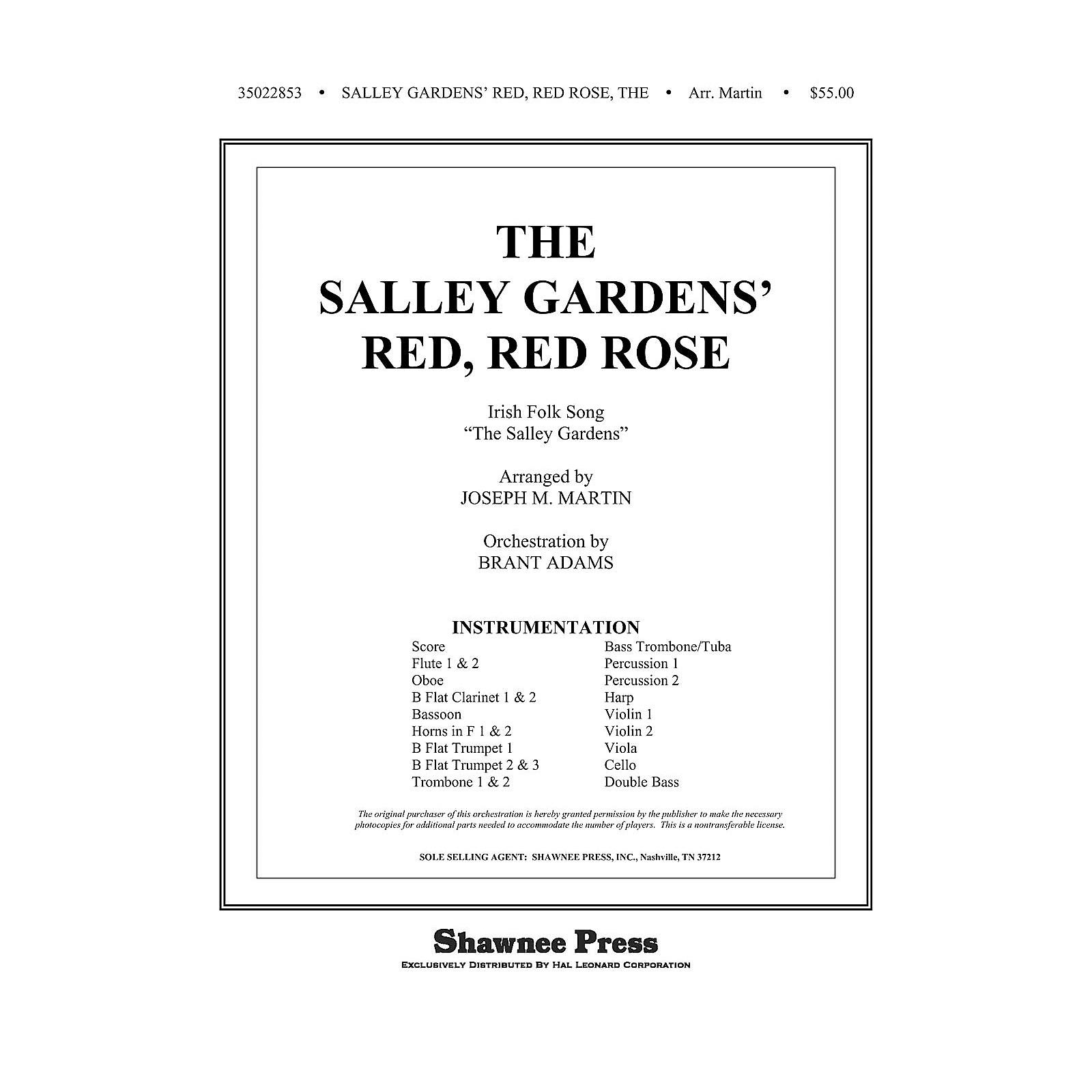 Shawnee Press The Salley Gardens' Red, Red Rose Score & Parts Arranged by Joseph M. Martin