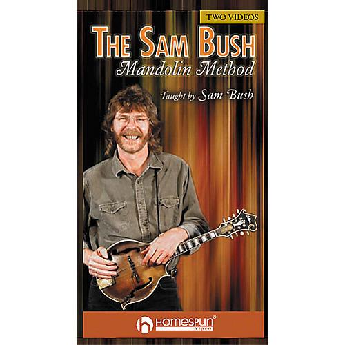 Homespun The Sam Bush Mandolin Method (2-VHS set)