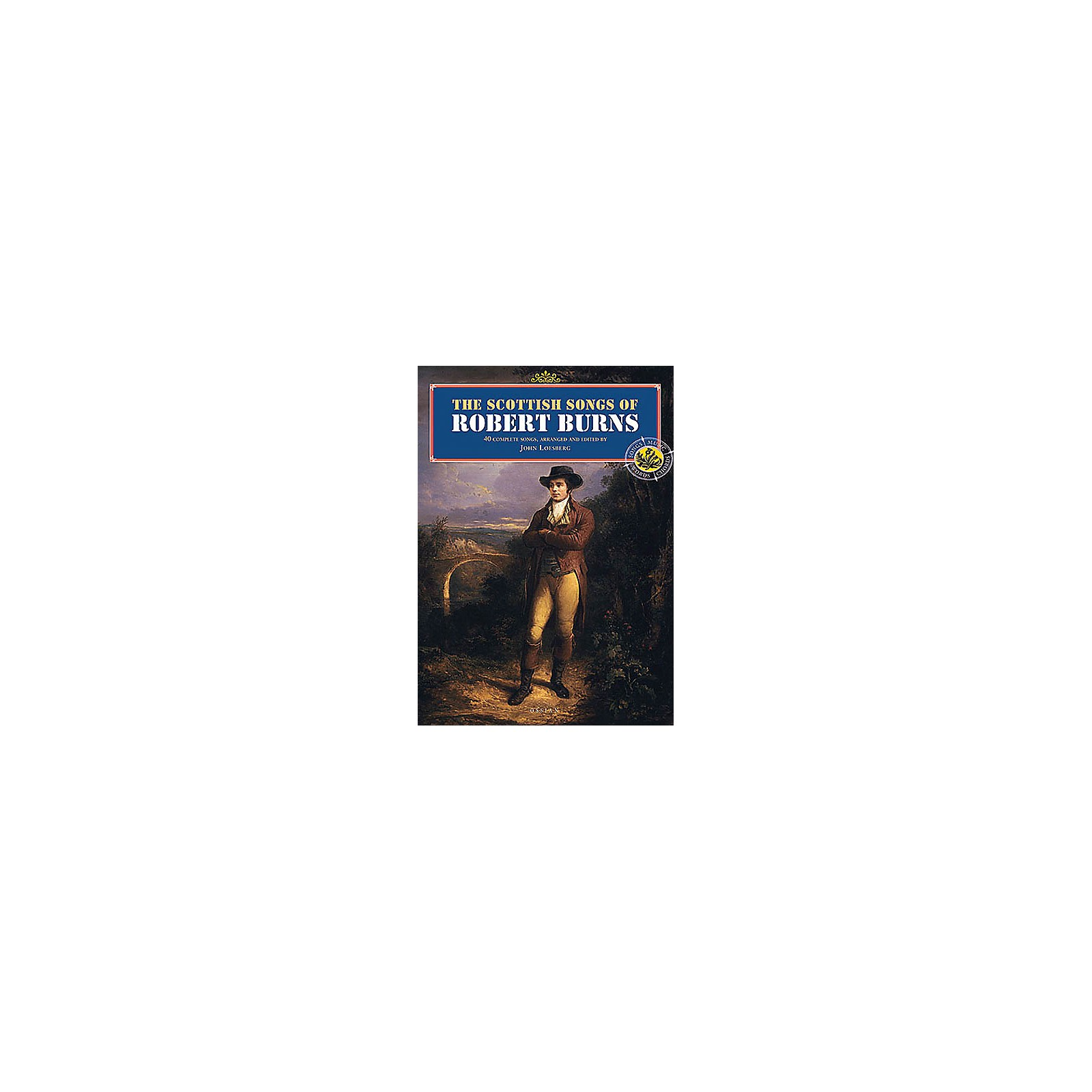 Music Sales The Scottish Songs of Robert Burns Music Sales America Series Softcover
