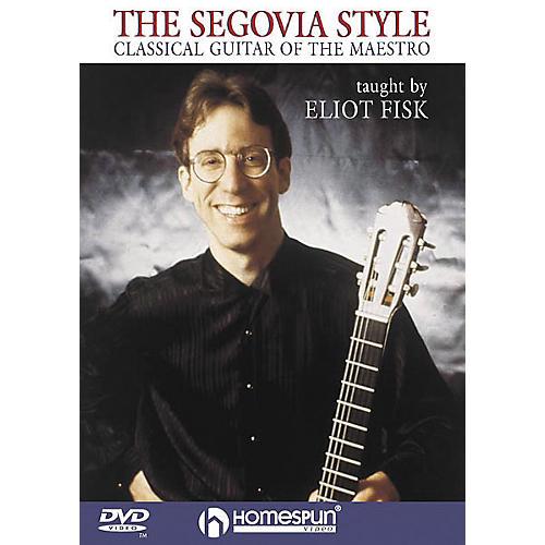 Homespun The Segovia Style (DVD)