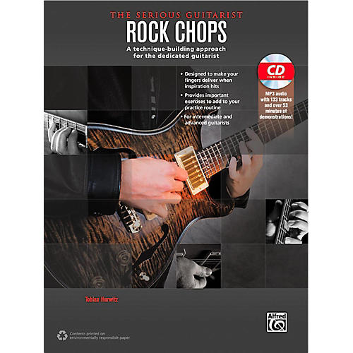 Alfred The Serious Guitarist Rock Chops Book & CD