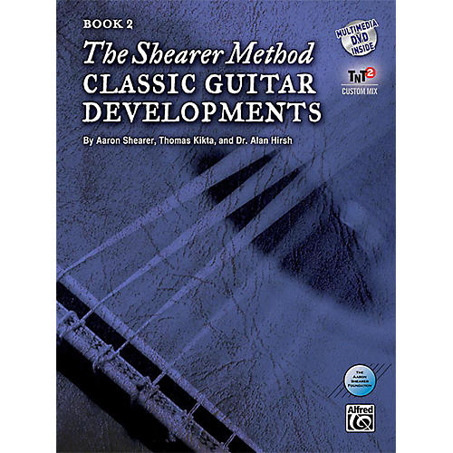 Alfred The Shearer Method Book 2: Classic Guitar Developments Book & DVD