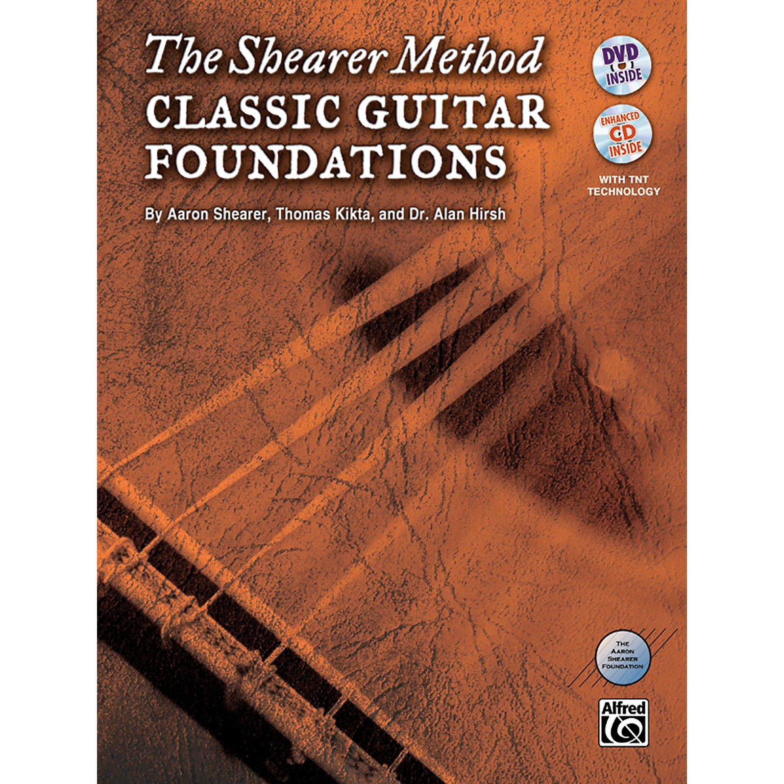 Alfred The Shearer Method: Classic Guitar Foundations (Book, CD & DVD)