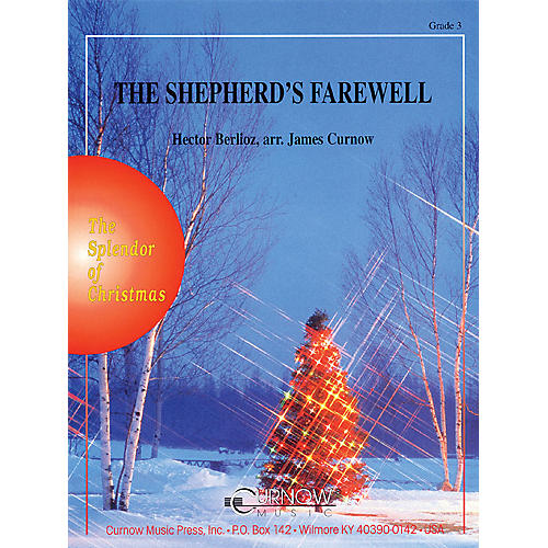 Curnow Music The Shepherds' Farewell (Full Score) Concert Band Level 3 Arranged by James Curnow