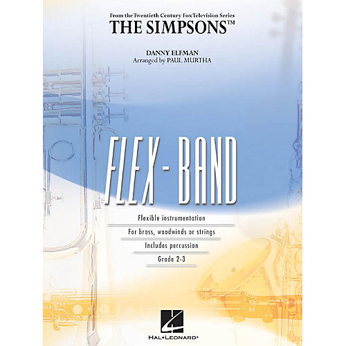 Hal Leonard The Simpsons Concert Band Level 2-3 Arranged by Paul Murtha