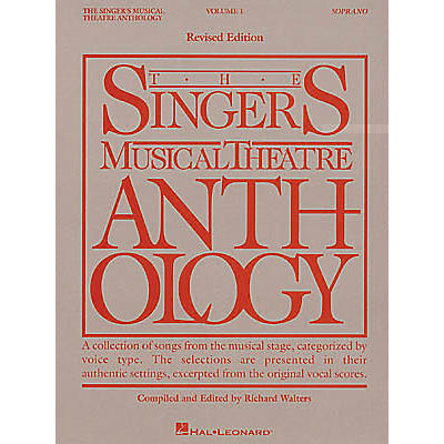 Hal Leonard The Singer's Musical Theatre Anthology - Volume 1, Revised