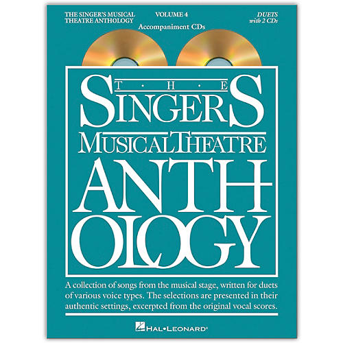 Hal Leonard The Singer's Musical Theatre Anthology: Duets, Volume 4  Set of Accompaniment CDs