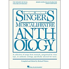 Hal Leonard The Singer's Musical Theatre Anthology Teen's Edition Mezzo-Soprano/Alto/Belter