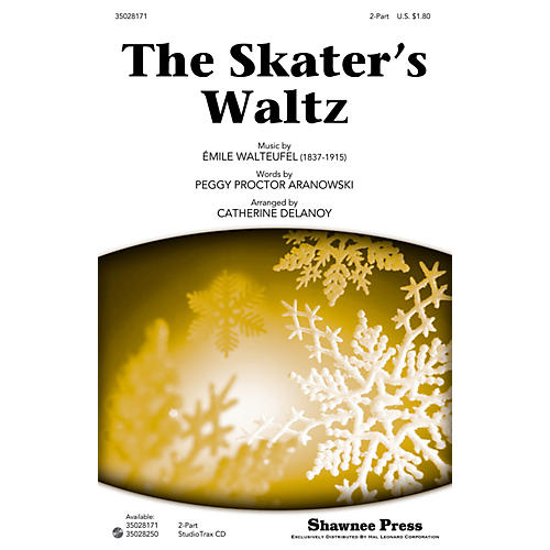 Shawnee Press The Skater's Waltz 2-Part arranged by Catherine DeLanoy