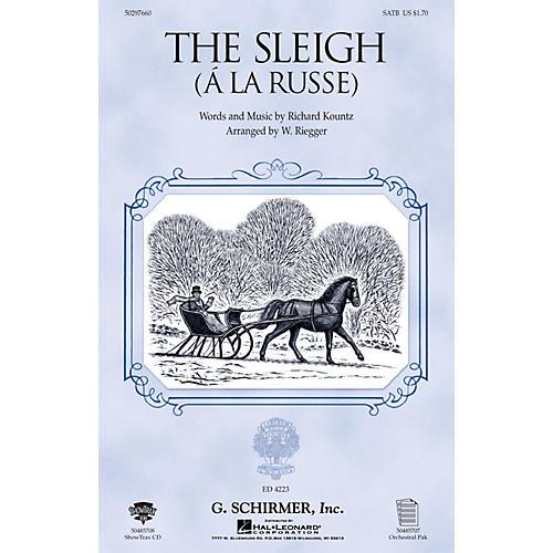 G. Schirmer The Sleigh (À La Russe) (ShowTrax CD) ShowTrax CD Arranged by Wallingford Riegger