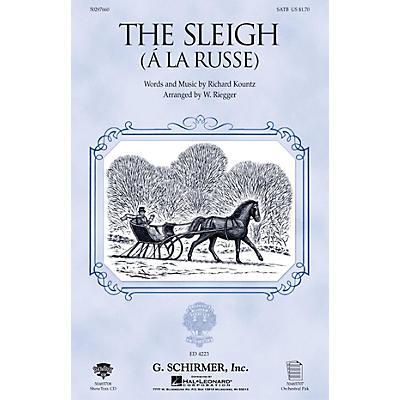 G. Schirmer The Sleigh (À La Russe) (TTBB) TTBB Composed by Richard Kountz