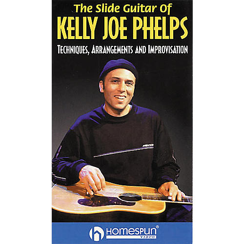 Hal Leonard The Slide Guitar of Kelly Joe Phelps Video