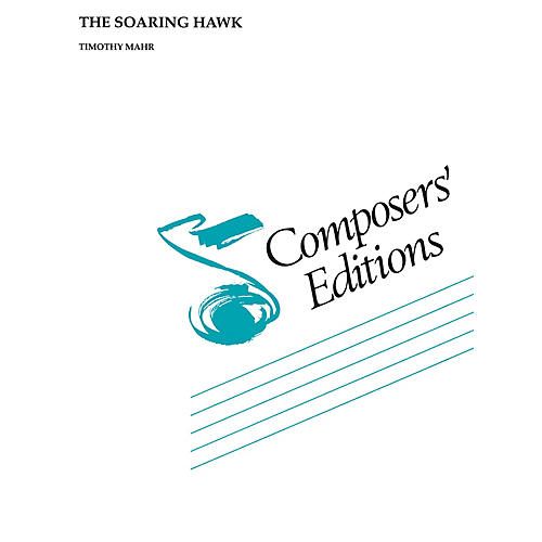 Hal Leonard The Soaring Hawk Concert Band Level 4-6 Composed by Timothy Mahr
