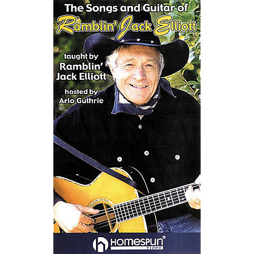 Homespun The Songs and Guitar of Ramblin' Jack Elliott (VHS)