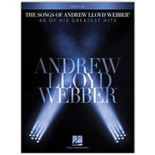 Hal Leonard The Songs of Andrew Lloyd Webber for Cello Instrumental Songbook