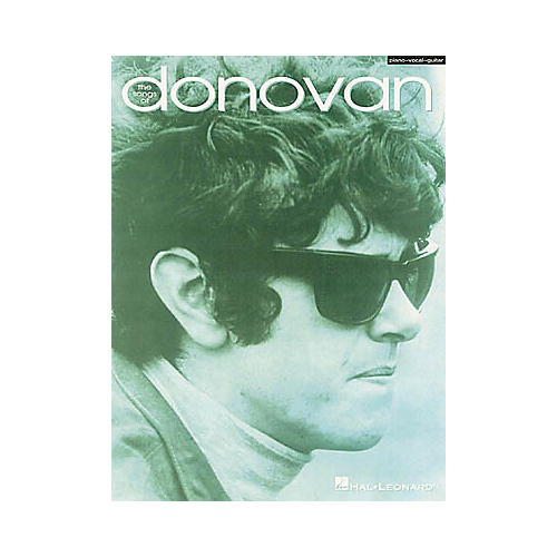 Hal Leonard The Songs of Donovan Piano/Vocal/Guitar Artist Songbook