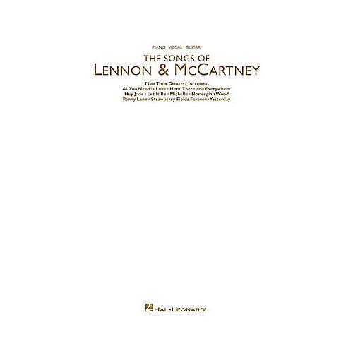 Hal Leonard The Songs of Lennon and McCartney Book