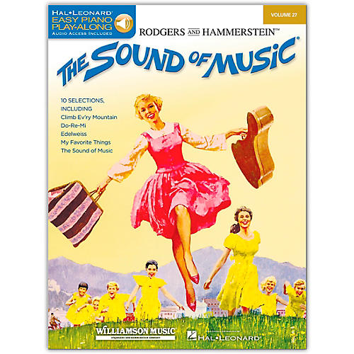 Hal Leonard The Sound Of Music - Easy Piano Play-Along Volume 27 (Book/Online Audio)