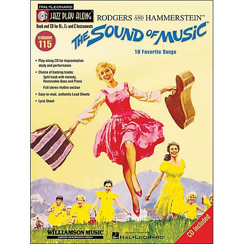 Hal Leonard The Sound Of Music - Jazz Play-Along Volume 115 (CD/Pkg)