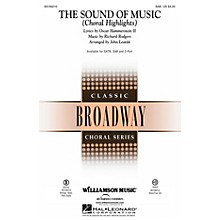 Williamson Music The Sound of Music (Choral Highlights) SAB by Julie Andrews arranged by John Leavitt