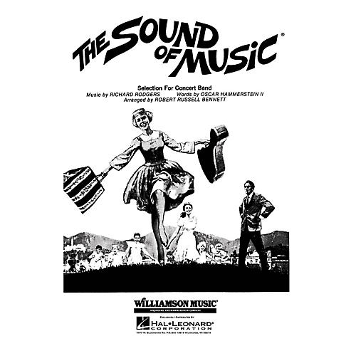 Hal Leonard The Sound of Music Concert Band Level 4 Arranged by Robert Russell Bennett
