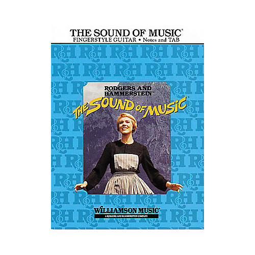 Hal Leonard The Sound of Music Guitar Tab Book