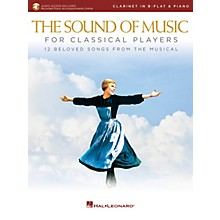 Hal Leonard The Sound of Music for Classical Players - Clarinet and Piano Book/Audio Online