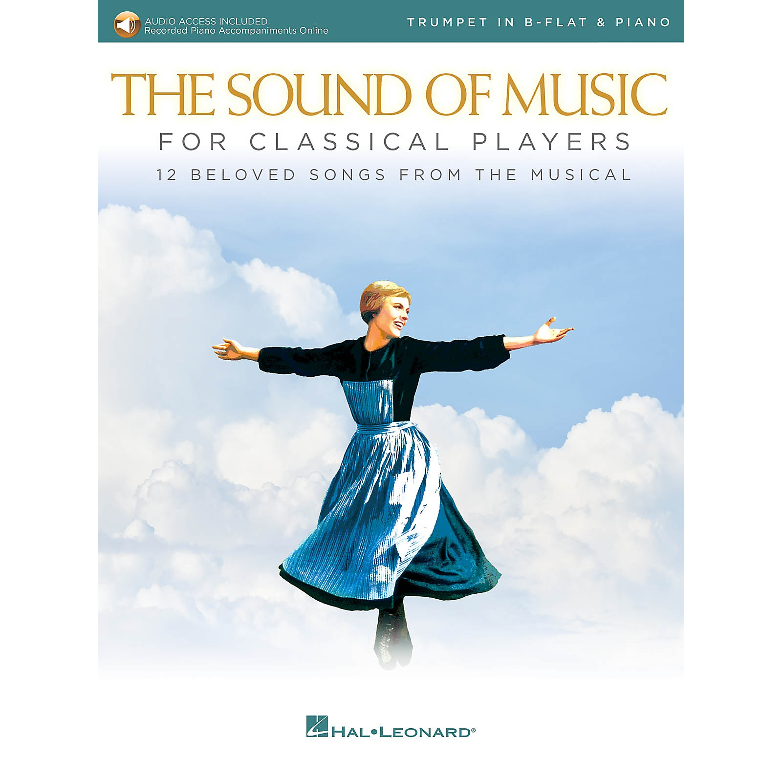 Hal Leonard The Sound of Music for Classical Players - Trumpet and Piano Book/Audio Online