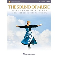 Hal Leonard The Sound of Music for Classical Players - Violin and Piano Book/Audio Online