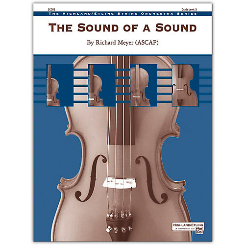 Alfred The Sound of a Sound Conductor Score 3