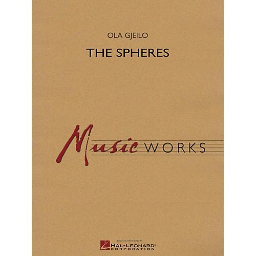 Hal Leonard The Spheres Concert Band Level 4 Composed by Ola Gjeilo