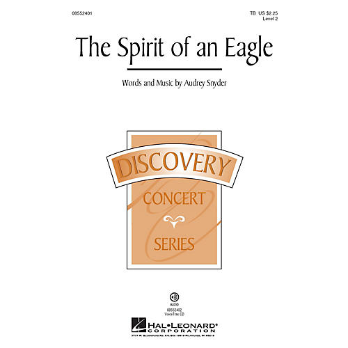 Hal Leonard The Spirit of an Eagle (Discovery Level 2) TB composed by Audrey Snyder