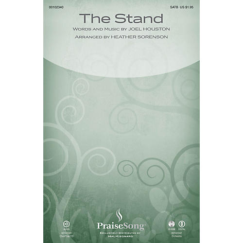 PraiseSong The Stand ORCHESTRA ACCOMPANIMENT by Hillsong Arranged by Heather Sorenson