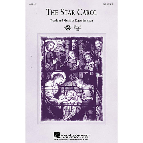 Hal Leonard The Star Carol ShowTrax CD Composed by Roger Emerson