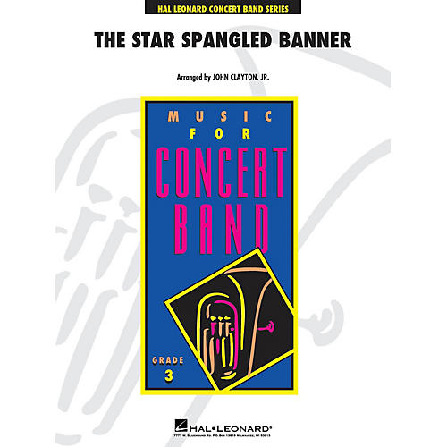 Hal Leonard The Star Spangled Banner - Young Concert Band Level 3 by John Clayton, Jr.