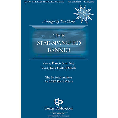 Gentry Publications The Star-Spangled Banner 2-Part optional a cappella Arranged by Tim Sharp