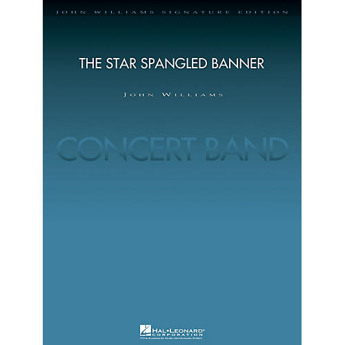 Hal Leonard The Star Spangled Banner (2004 Rose Bowl Edition Score and Parts) Concert Band Level 5 by John Williams