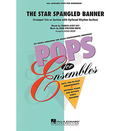 Hal Leonard The Star Spangled Banner Concert Band Level 1.5 Arranged by Michael Brown