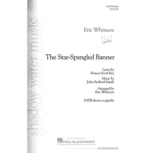 Hal Leonard The Star-Spangled Banner SATB DV A Cappella arranged by Eric Whitacre