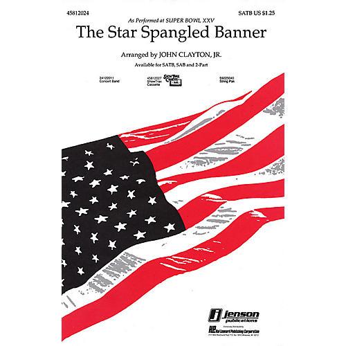 Hal Leonard The Star Spangled Banner (Whitney Houston version) SATB arranged by John Clayton, Jr.