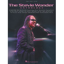 Hal Leonard The Stevie Wonder Anthology Piano, Vocal, Guitar Songbook