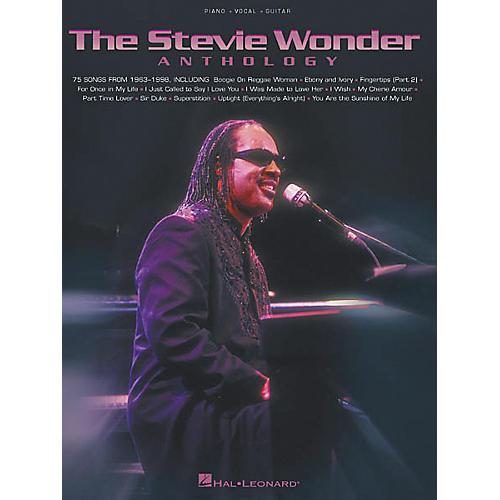 Hal Leonard The Stevie Wonder Anthology Piano, Vocal, Guitar Songbook